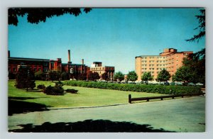 Kitchener- Canada, Ontario, Waterloo General Hospital, Panoramic Chrome Postcard