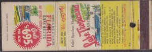 LAKE TROPICANA RANCHETTES - Matchbook Cover / $10 down + $10 a month / DUNNELLON