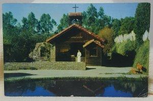 Little Chapel by the Lake Knotts Berry Farm 1959 California Vintage Postcard