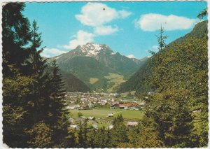 Austria Luftkurort Mayrhofen Zillertal Tirol 1971 Postcard