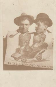 RP; ATLANTA , Georgia , 1907 ; Photographer Prop Image, Automobile