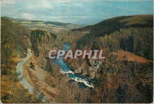 Modern Postcard The river Beaul at the great parade of the pass Druim