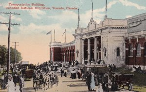 TORONTO, Ontario, Canada, 1900-1910s; Transportation Building, Canadian Natio...