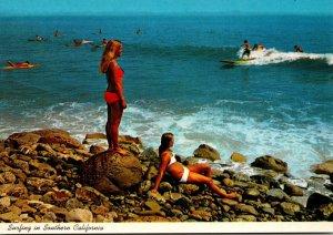 California Malibu Surfing Scene