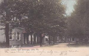 Pennsylvania Lititz Linden Hall 1907 Rotograph