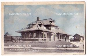 B. R. & P. Station, Springville NY