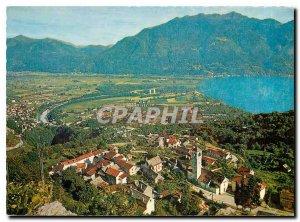 Postcard Modern Alberga Meister Contra di sopra Locarno Dige Contra Verzasca