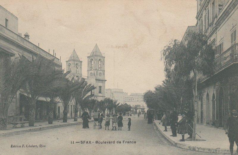 SFAX (Tunisie) - Boulevard de France , 00-10s