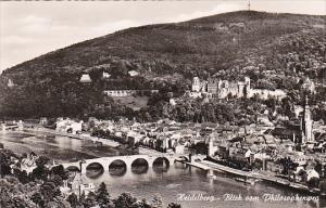 Germany Heidelberg Blick vom Philosophenweg Photo