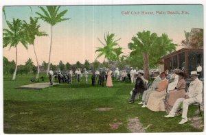 Palm Beach, Fla., Golf Club House