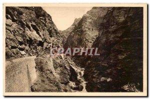Old Postcard Gorges Cians