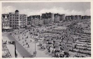 Belgium Knokke Albert Plage Panorama de la Digue 1960 Photo