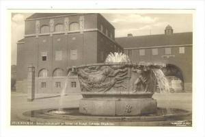 RP  STOCKHOLM,  Sweden, 40-50s: Industrimonument av Milles vid Kungl. Teknisk...