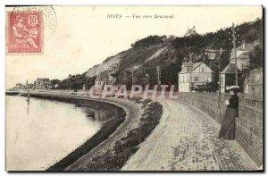 Old Postcard View Dives Towards Beuseval