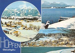 Hopfen Ostallgaeu Winter Gesamtansicht Lake Lac Panorama