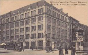 Germany Berlin Offices Of American Express Company