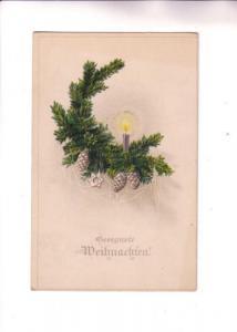 Christmas Star and Candle, Weihuachren, Gernan