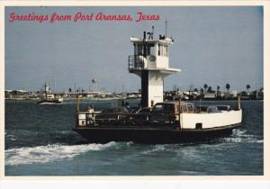 Ferry Boats, Greetings from Fort Aransas, Texas, 50-70s