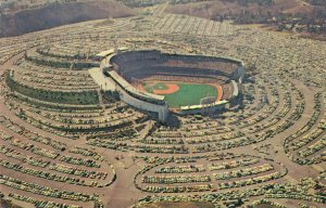 USA Dodger Stadium Los Angeles Airview 03.82