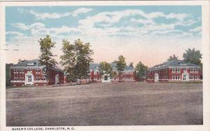 North Carolina Charlotte Queens College 1936