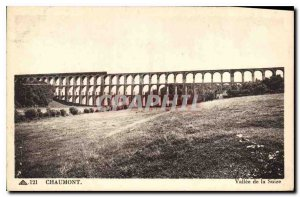 Old Postcard Chaumont Vallee Suize