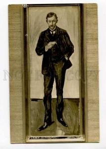 270286 Frenchman by Edvard MUNCH vintage RARE Postcard