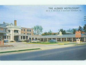 Unused Pre-1980 ALDRED COURT MOTEL Statesboro Georgia GA hr4720