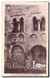 Old Postcard From Abbey Jumieges Triforium of St. Peter & # 39eglise