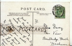 Genealogy Postcard - Davey - Fair View - Broadbridge Heath - Horsham - Ref 554B