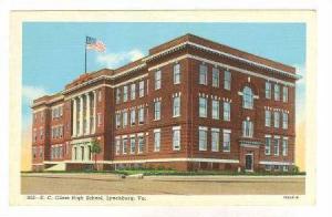 E. C. Glass High School, Lynchburg, Virginia, 1930-1940s