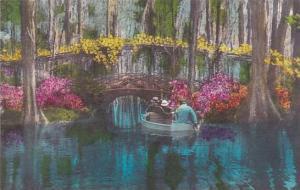 South Carolina Charleston Cypress Gardens Albertype