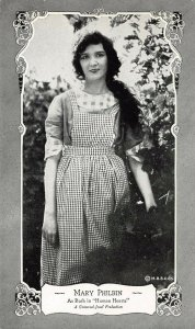 LP99 Mary Philbin  Silent Film Movie Actor Star Postcard Human Hearts