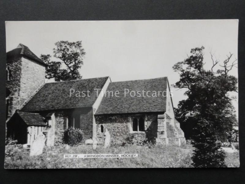 Essex: HOCKLEY Ashingdon Minster (St. Andrews) - Old RP Postcard