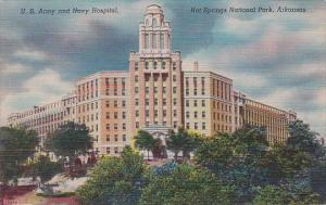 Arkansas Hot Springs National Park U S Army And Navy Hospital