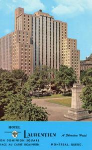 Canada - Quebec, Montreal. Hotel Laurentien