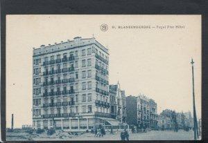 Belgium Postcard - Blankenberghe - Royal Pier Hotel     T7719