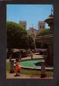 PR Plaza Guayama San Antonio Church Puerto Rico Postcard Care Postale
