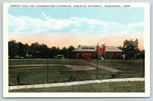 Middletown Connecticut~Wesleyan University~Andrus Field~Fayerweather Gym~1920s