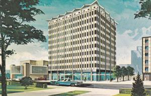 EDMONTON, Alberta, Canada, 1940-1960's; Civic Centre Development, Chancery Hll
