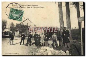 Postcard Old Customs Customs Customs Lafrimbole Lafrimbolle Route Cirey sur V...