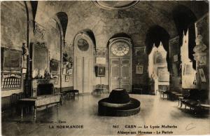 CPA La Normandie - Caen - Le Lycée Malherbe - Abbaye aux Hommes . (515769)