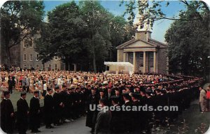 First Outdoor Commencement, Colgate University - Hamilton, New York