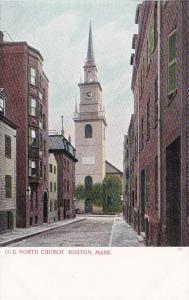 Massachusetts Bostom Old North Church