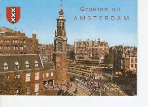 Postal 020865 : Amsterdam Mutplein met Munttoren