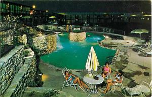 Pool Scene The Chariot Inn Austin Texas TX, 7300 North Interregional Hwy