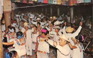 Mexico Dacners (Jaraneros) performing a Vaqueria Conkal Yucatan