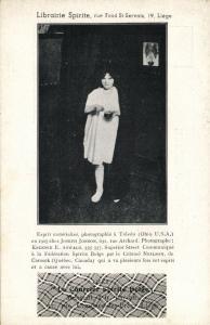 Ghost Photograph, Librairie Spirite, Le Courrier Spirits Belge (1910s) I