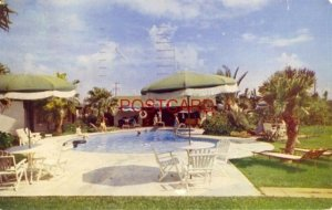 1956 RANCH MOTEL Swimming Pool CORPUS CHRISTI, TX. Mr and Mrs Ross Lynch, Owners