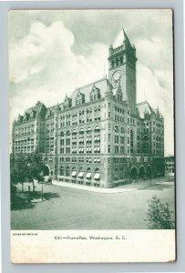 Post Office, Vintage Washington DC Postcard