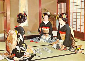 Kyoto - Maiko Playing Cards